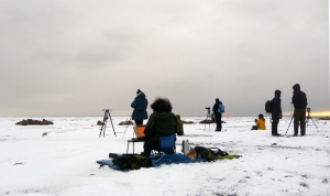 kunstnere påisen arctic circle