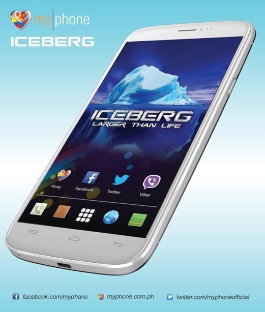 MyPhone-Agua-Iceberg